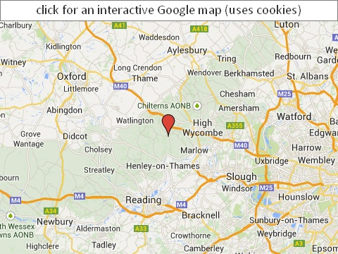 Click for Google map for Wills in English - Google maps use cookies